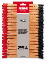 FERVE F410 - PINZA 5 A (BOLSA 2 JUEGOS)