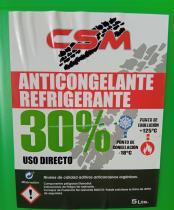 NEWOIL CSM30VERDE - CSM 30% ROSA ANTICONGELANTE 5 LITROS