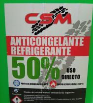 NEWOIL CSM50VERDE - CSM 50% G-12 ROSA ANTICONGELANTE 5 LITROS