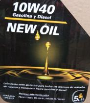 NEWOIL 305 - ACEITE NEW OIL 10W40 A3 / B4  200 LITROS